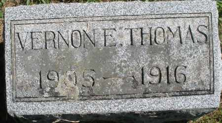 THOMAS, VERNON E. - Madison County, Ohio | VERNON E. THOMAS - Ohio Gravestone Photos