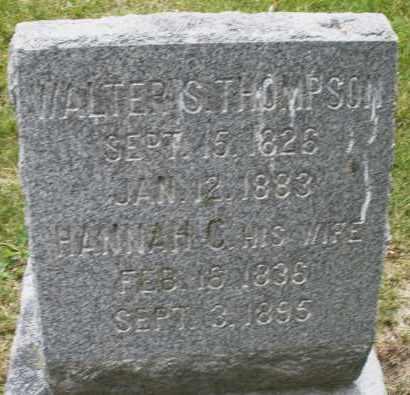 THOMPSON, WALTER S. - Madison County, Ohio   WALTER S. THOMPSON - Ohio Gravestone Photos