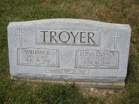 TROYER, EDNA ELVESTA - Madison County, Ohio   EDNA ELVESTA TROYER - Ohio Gravestone Photos