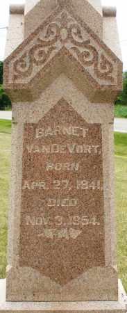 VANDEVORT, BARNET - Madison County, Ohio | BARNET VANDEVORT - Ohio Gravestone Photos