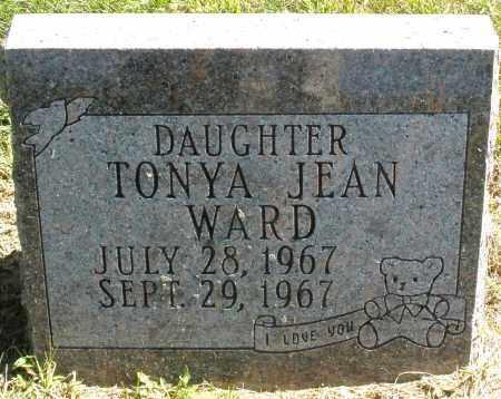 WARD, TONYA JEAN - Madison County, Ohio   TONYA JEAN WARD - Ohio Gravestone Photos