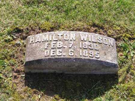 WILSON, ALEXANDER HAMILTON - Madison County, Ohio   ALEXANDER HAMILTON WILSON - Ohio Gravestone Photos