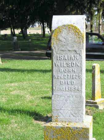 WILSON, ISAIAH - Madison County, Ohio   ISAIAH WILSON - Ohio Gravestone Photos