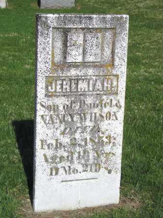WILSON, JEREMIAH - Madison County, Ohio | JEREMIAH WILSON - Ohio Gravestone Photos