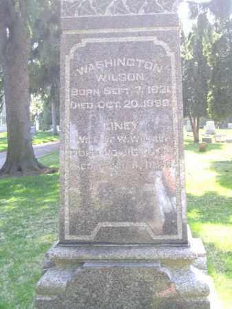 WILSON, LINNEY - Madison County, Ohio | LINNEY WILSON - Ohio Gravestone Photos