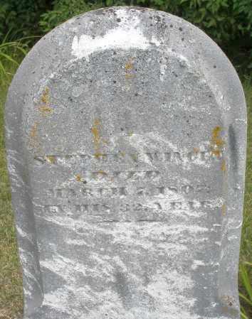 WINGET, STEPHEN - Madison County, Ohio | STEPHEN WINGET - Ohio Gravestone Photos