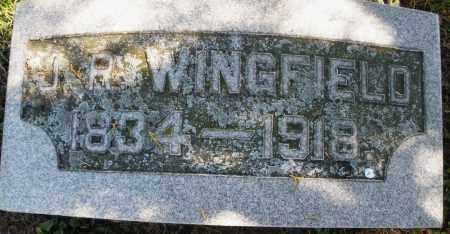 WINGFIELD, J.R. - Madison County, Ohio   J.R. WINGFIELD - Ohio Gravestone Photos