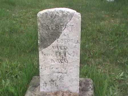 ?, ALBERT - Mahoning County, Ohio   ALBERT ? - Ohio Gravestone Photos