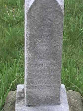 ?, CAROLINE - Mahoning County, Ohio   CAROLINE ? - Ohio Gravestone Photos