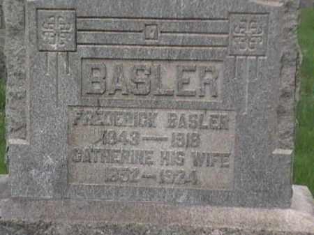 BASLER, CATHERINE - Mahoning County, Ohio   CATHERINE BASLER - Ohio Gravestone Photos