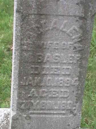 BASLER, MAGDALENA - Mahoning County, Ohio | MAGDALENA BASLER - Ohio Gravestone Photos