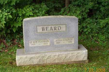 BEARD, LEROY FRANKLIN - Mahoning County, Ohio | LEROY FRANKLIN BEARD - Ohio Gravestone Photos
