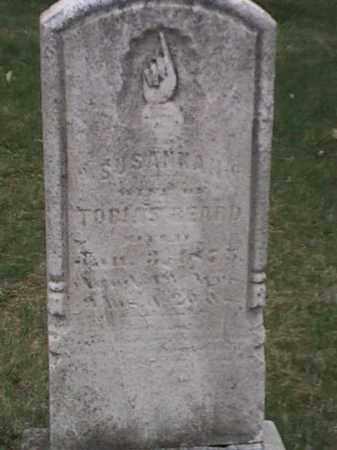 BEARD, SUSANNAH - Mahoning County, Ohio   SUSANNAH BEARD - Ohio Gravestone Photos