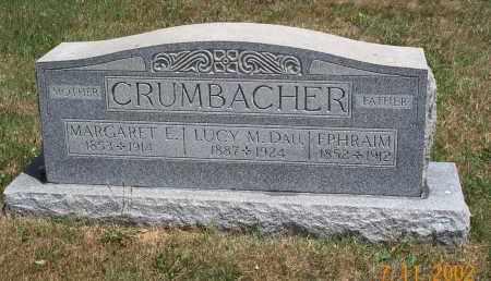 CRUMBACHER, MARGARET E. - Mahoning County, Ohio | MARGARET E. CRUMBACHER - Ohio Gravestone Photos