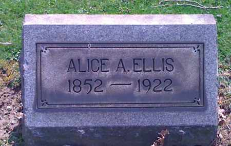 ELLIS, ALICE A. - Mahoning County, Ohio | ALICE A. ELLIS - Ohio Gravestone Photos