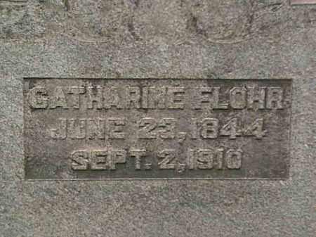 FLOHR, CATHARINE - Mahoning County, Ohio | CATHARINE FLOHR - Ohio Gravestone Photos