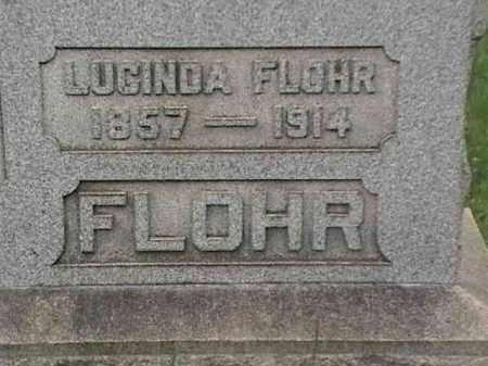 FLOHR, LUCINDA - Mahoning County, Ohio | LUCINDA FLOHR - Ohio Gravestone Photos