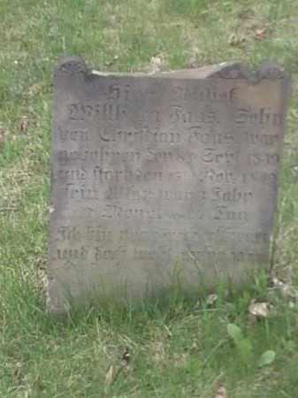 FONS, WILLHAM - Mahoning County, Ohio | WILLHAM FONS - Ohio Gravestone Photos