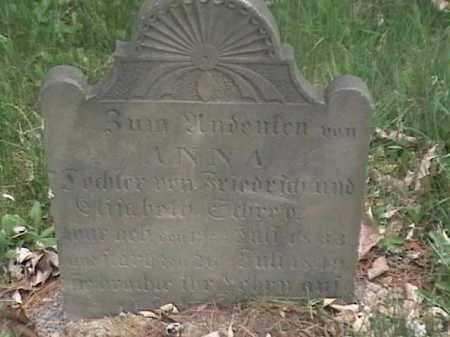 FREIDRICH, ANNA - Mahoning County, Ohio | ANNA FREIDRICH - Ohio Gravestone Photos