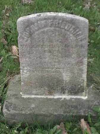 FRIEDRICH, JOHANN - Mahoning County, Ohio   JOHANN FRIEDRICH - Ohio Gravestone Photos