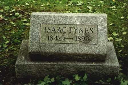 FYNES, ISAAC - Mahoning County, Ohio   ISAAC FYNES - Ohio Gravestone Photos