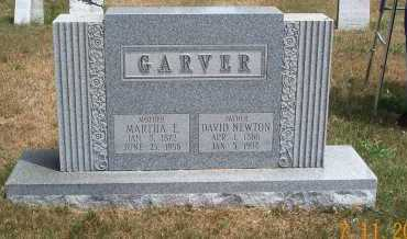 GARVER, DAVID NEWTON - Mahoning County, Ohio | DAVID NEWTON GARVER - Ohio Gravestone Photos