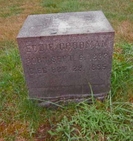 GOODMAN, EDDIE - Mahoning County, Ohio | EDDIE GOODMAN - Ohio Gravestone Photos