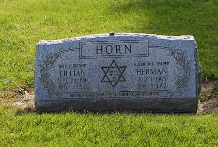 HORN, LILLIAN - Mahoning County, Ohio | LILLIAN HORN - Ohio Gravestone Photos