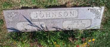 PRATER JOHNSON, GRACE VENIE - Mahoning County, Ohio | GRACE VENIE PRATER JOHNSON - Ohio Gravestone Photos