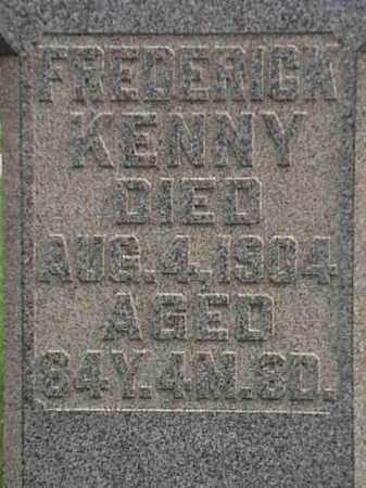KENNY, FREDERICK - Mahoning County, Ohio   FREDERICK KENNY - Ohio Gravestone Photos
