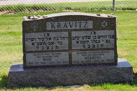 KRAVITZ, HERBERT - Mahoning County, Ohio | HERBERT KRAVITZ - Ohio Gravestone Photos
