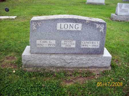 LONG, CARL G. - Mahoning County, Ohio | CARL G. LONG - Ohio Gravestone Photos