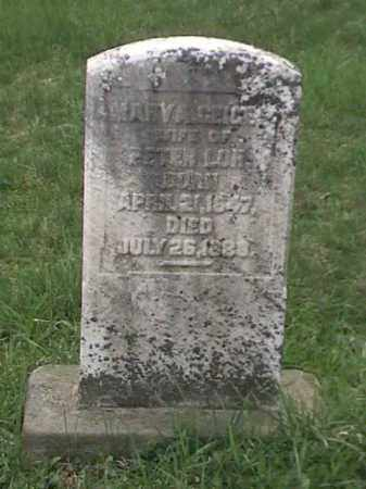 GEIGER LONG, MARY A. - Mahoning County, Ohio   MARY A. GEIGER LONG - Ohio Gravestone Photos