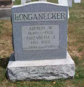 LONGANECKER, ALFRED W. - Mahoning County, Ohio | ALFRED W. LONGANECKER - Ohio Gravestone Photos