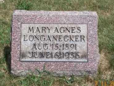BARNHART LONGANECKER, MARY AGNES - Mahoning County, Ohio | MARY AGNES BARNHART LONGANECKER - Ohio Gravestone Photos