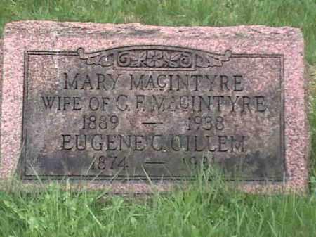 MACINTYRE, MARY - Mahoning County, Ohio | MARY MACINTYRE - Ohio Gravestone Photos