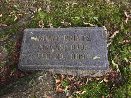 PRINTZ, HARRY - Mahoning County, Ohio | HARRY PRINTZ - Ohio Gravestone Photos