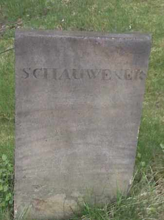 SCHAUWEKER, ? - Mahoning County, Ohio | ? SCHAUWEKER - Ohio Gravestone Photos