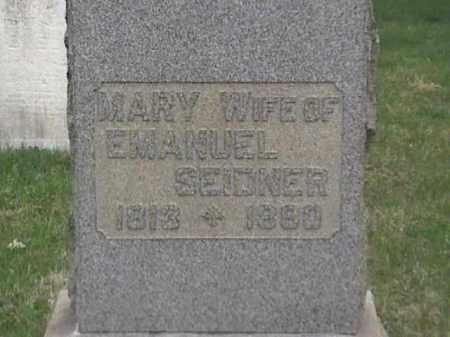 SEIDNER, MARY - Mahoning County, Ohio | MARY SEIDNER - Ohio Gravestone Photos