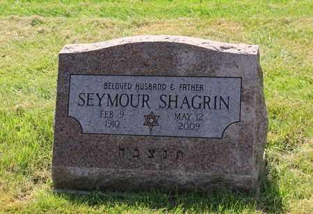 SHAGRIN, SEYMOUR - Mahoning County, Ohio   SEYMOUR SHAGRIN - Ohio Gravestone Photos