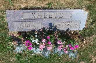 SHEETS, SUSIE A. - Mahoning County, Ohio | SUSIE A. SHEETS - Ohio Gravestone Photos