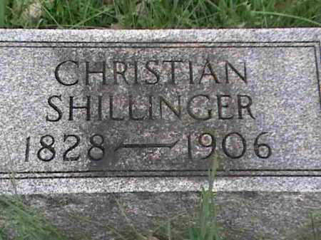 SHILLINGER, CHRISTIAN - Mahoning County, Ohio | CHRISTIAN SHILLINGER - Ohio Gravestone Photos