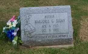 SLOAN, MARJORIE G. - Mahoning County, Ohio | MARJORIE G. SLOAN - Ohio Gravestone Photos