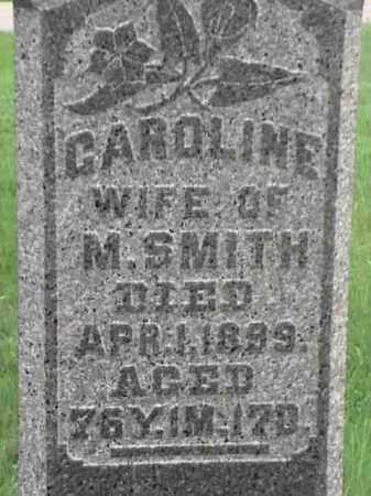 SMITH, CAROLINE - Mahoning County, Ohio | CAROLINE SMITH - Ohio Gravestone Photos