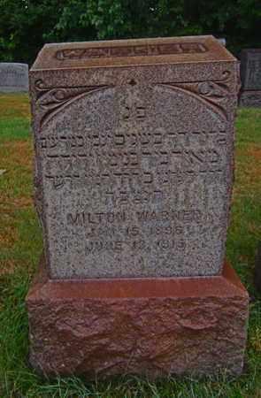 WARNER, MILTON - Mahoning County, Ohio | MILTON WARNER - Ohio Gravestone Photos