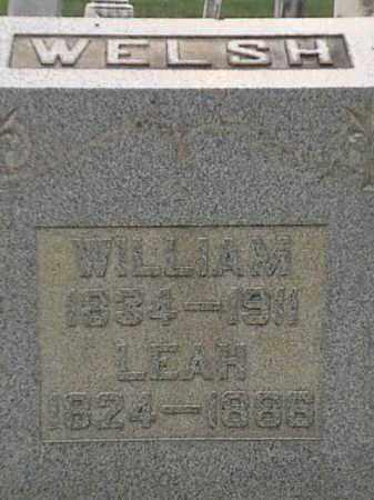 WELSH, LEAH - Mahoning County, Ohio | LEAH WELSH - Ohio Gravestone Photos