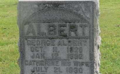 ALBERT, GEORGE - Marion County, Ohio | GEORGE ALBERT - Ohio Gravestone Photos