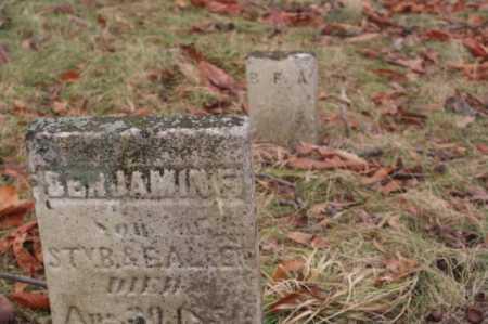 ALLEN, BENJAMIN - Marion County, Ohio | BENJAMIN ALLEN - Ohio Gravestone Photos
