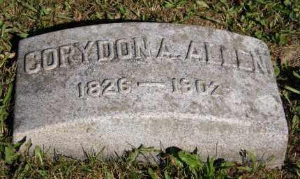ALLEN, CORYDON A. - Marion County, Ohio   CORYDON A. ALLEN - Ohio Gravestone Photos