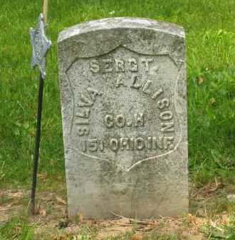 ALLISON, SILVA - Marion County, Ohio   SILVA ALLISON - Ohio Gravestone Photos